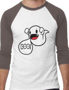 Boo! (Ghost) Men's Baseball ¾ T-Shirt