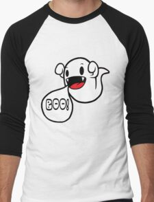 Boo! (Ghost) Men's Baseball ¾ T-Shirt