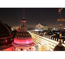 Rooftops of Paris Photographic Print