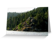 Coldwell, Northern Ontario Canada Greeting Card