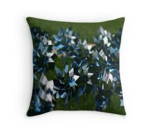 pinwheels for prevention Throw Pillow