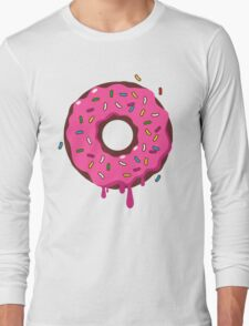 Giant Donut Long Sleeve T-Shirt