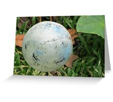 Suspended SPHERE! Greeting Card