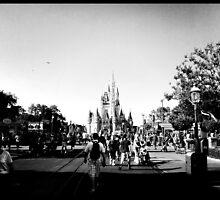 Cinderella's Castle by iPhonePhotos