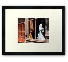 Dress For Sale Framed Print