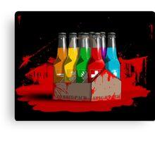Epic 8 perk pack blood Canvas Print