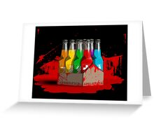 Epic 8 perk pack blood Greeting Card