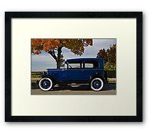 1930s Chevy 2-door Sedan Framed Print