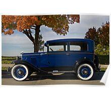 1930s Chevy 2-door Sedan Poster