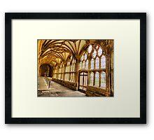 The Cloister Framed Print