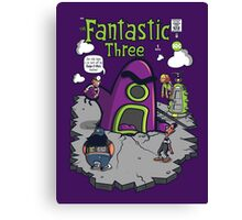 Fantastic Three Canvas Print