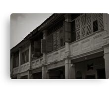 Window Shutters - Penang Canvas Print