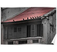 Red Roof - Penang Poster