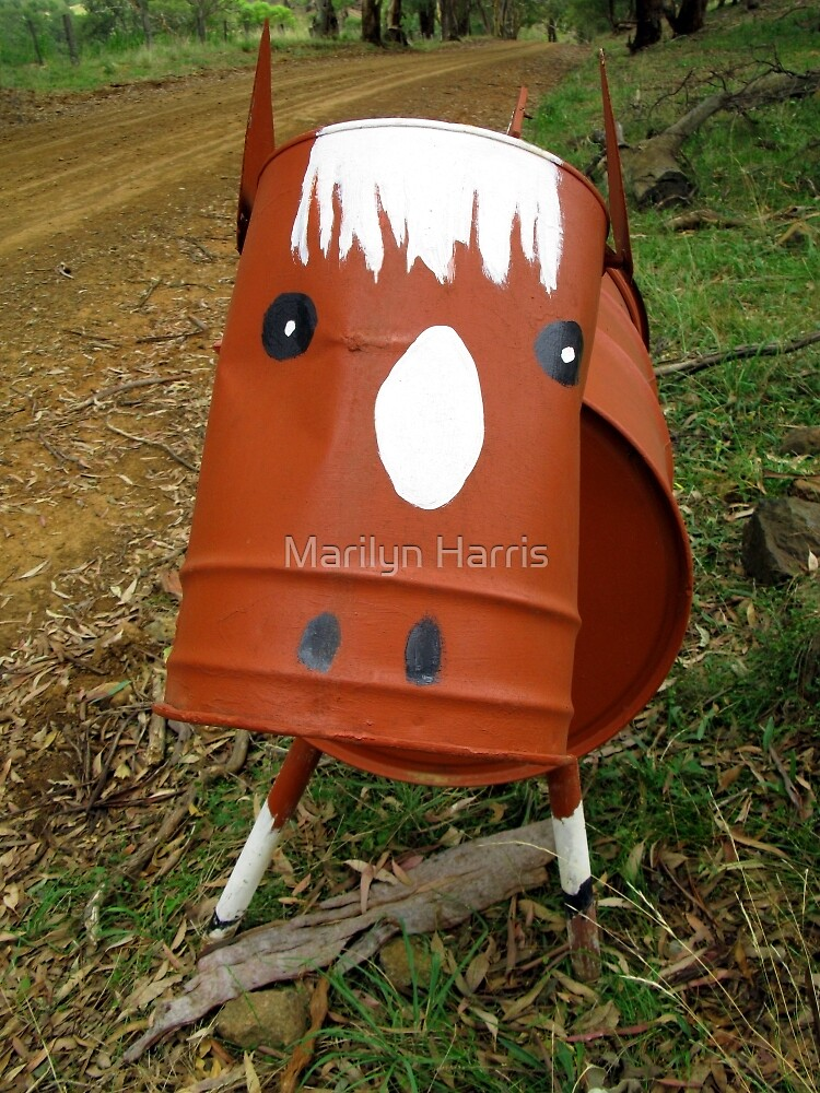 Cow of a Mail Box by Marilyn Harris