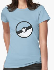 Choose Your Colour Pokeball Womens Fitted T-Shirt