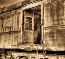 Train Car by Dawn Crouse