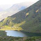 Coumduala Lake,,Comeragh Mountains,Co.Waterford,Ireland. by Pat Duggan
