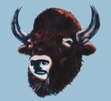 Bison T-Shirt by Shane Highfill