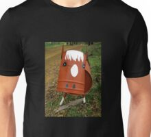 Cow of a Mail Box Unisex T-Shirt