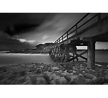 Clouded Bridge Photographic Print