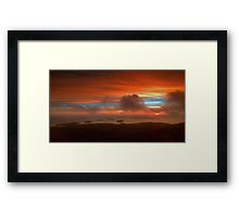 Sunrise From Cadillac Mountain 3 Framed Print