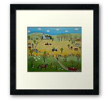 Spring Harvest Framed Print