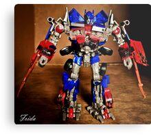 Optimus Prime - Transformers Metal Print