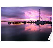 Port Albert Sunrise Poster