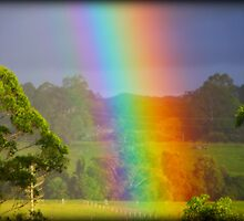 Touch the Rainbow by ChezImages