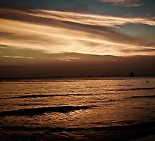 Sunset - Boracay by Michael  Habal