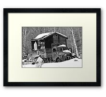 The FIRST rv Framed Print