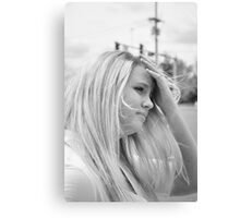 young woman Canvas Print