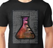 Orion Alchemy Vial over Dictionary Unisex T-Shirt