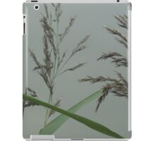 Getting back down to nature - grass seeds iPad Case/Skin
