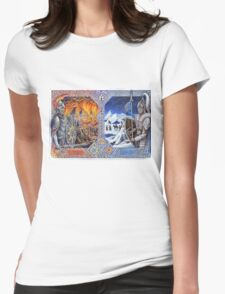 Brothers – Fire and Ice Womens Fitted T-Shirt