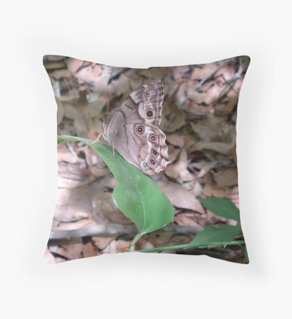 Southern Pearly Eye Throw Pillow