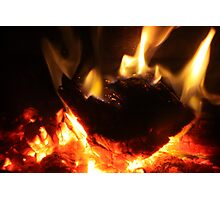 Warm & Toasty Photographic Print