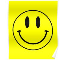 Acid House Smile Face Poster
