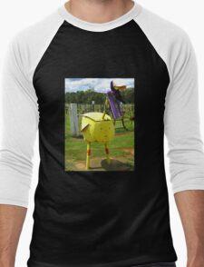 Emu or Big Bird?? Men's Baseball ¾ T-Shirt