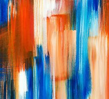 Silent Rhythm Abstract Painting by Christina Rollo