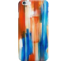 Silent Rhythm Abstract Art Painting iPhone Case/Skin