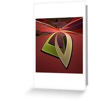 Portal Petals Greeting Card