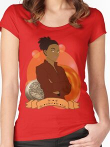 Doctor Who: The girl who walked the Earth - Martha Jones Women's Fitted Scoop T-Shirt