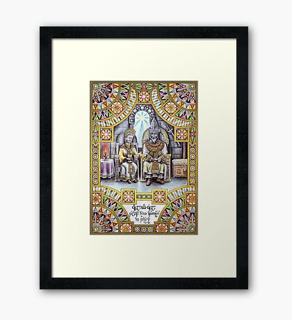 King Calmacil of Gondor Framed Print