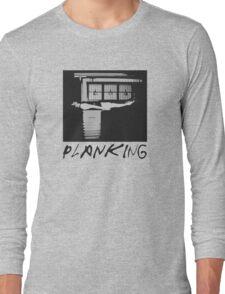 Planking Stencil T-Shirt Long Sleeve T-Shirt