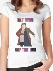 Doctor Donna - Doctor Who Women's Fitted Scoop T-Shirt
