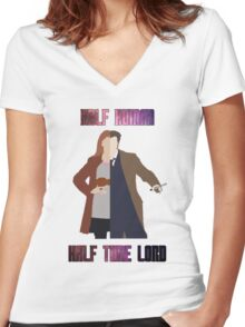Doctor Donna - Doctor Who Women's Fitted V-Neck T-Shirt