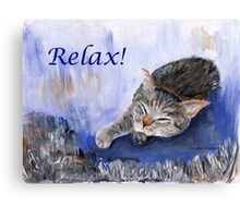 Relax! Canvas Print