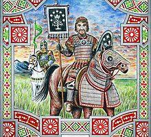 King Rómendacil II of Gondor by Matěj Čadil