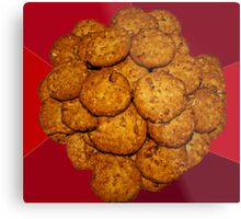 Yummy ANZAC Biscuits. Metal Print